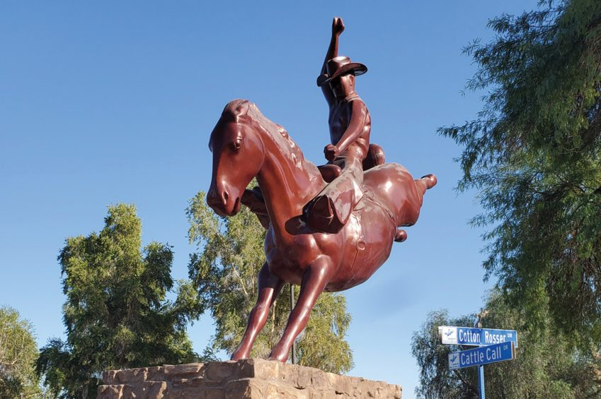 Brawley Cattle Call Monument