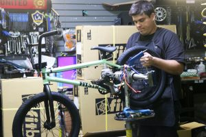 Alex Quintero, Finish Line Pro Bike Shop