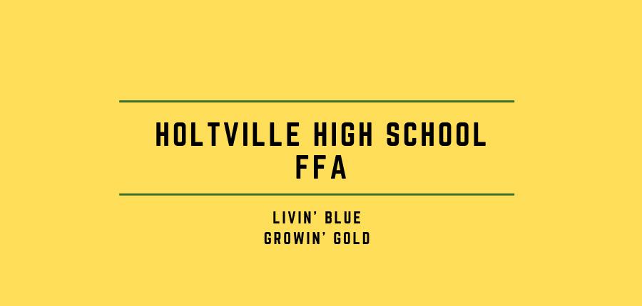Holtville FFA Logo, Ag Barn Story,