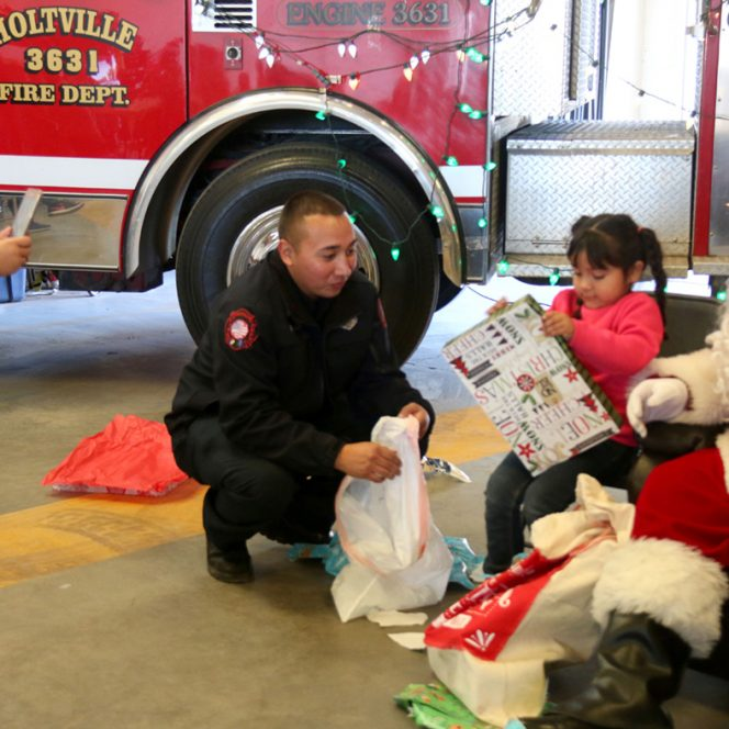 Holtville Fire Dept Rescues Holiday
