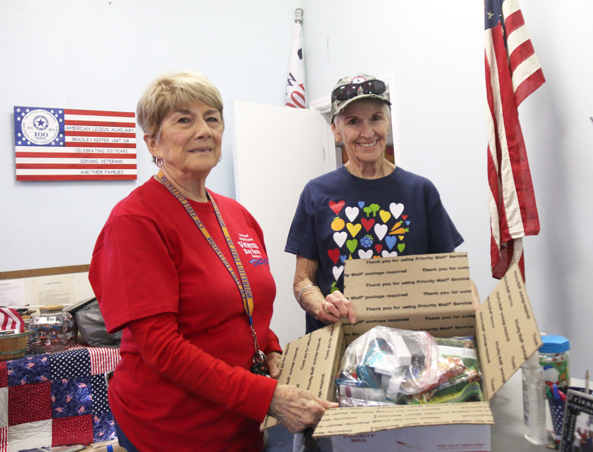 American Legion Helps Navy Crew After Getting Tip