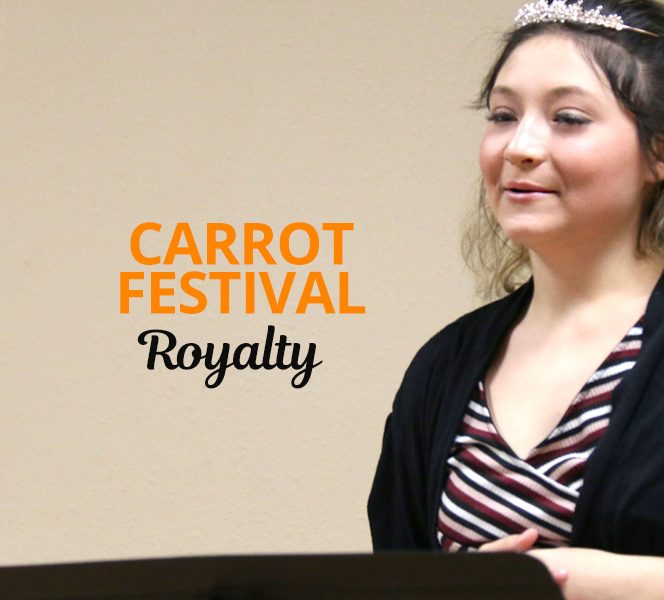 Carrot Festival Royalty Hopefuls Show Action is Better Than Just Talk.