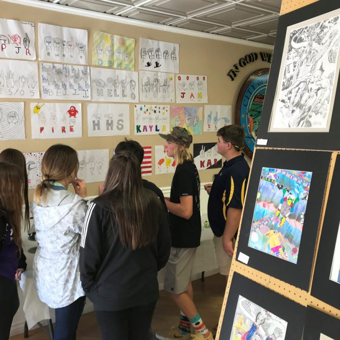 Holtville Joins High School Madness; Art Show