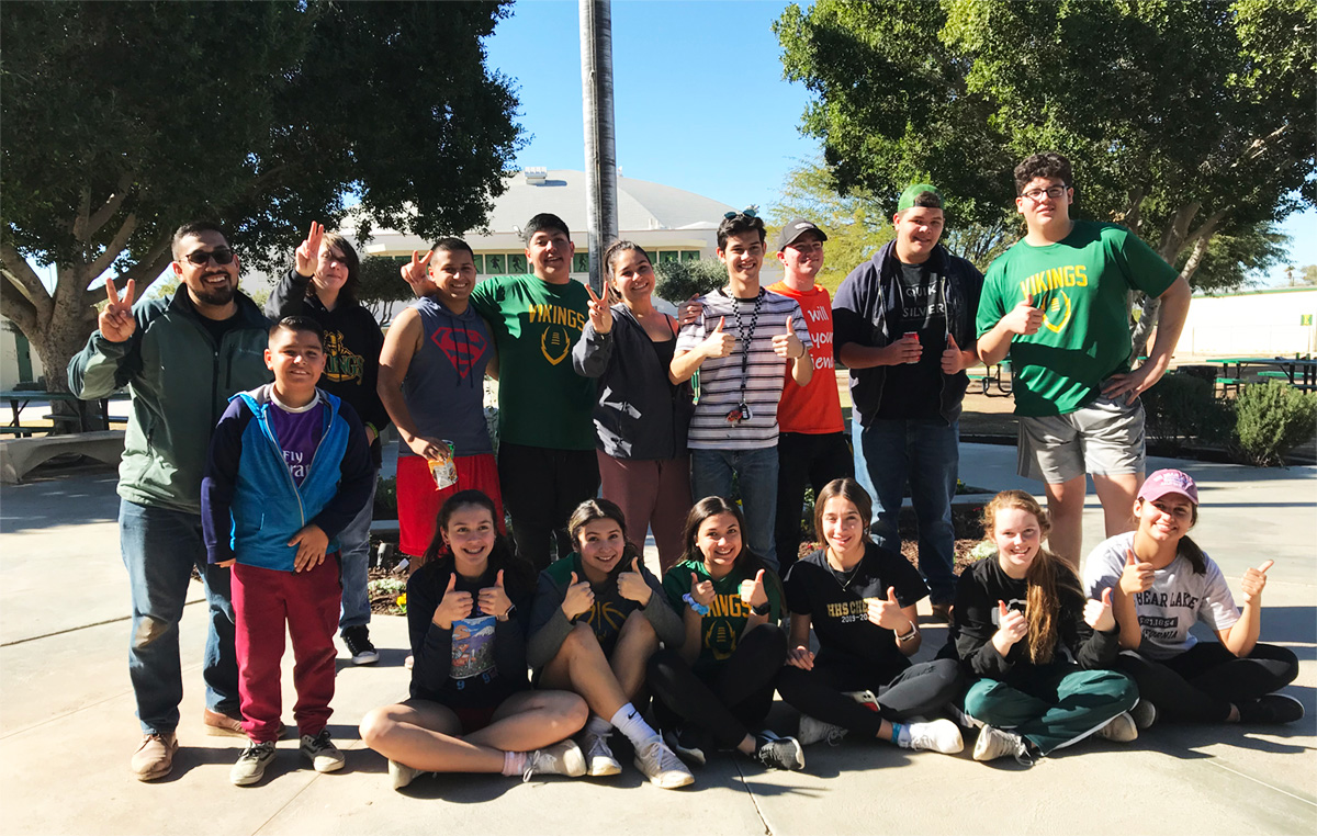 Holtville High Holds Beautification Event