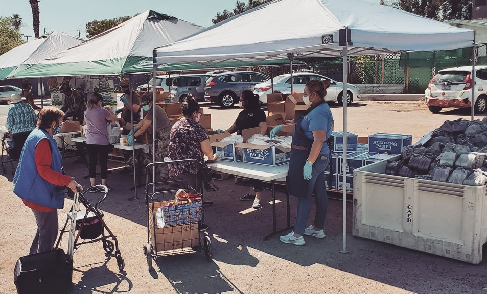 Food Bank Breaks Records Serving COVID-Affected