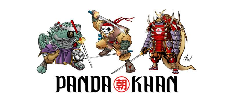 Holtville Duo Inks Deal for Panda Khan Cartoon