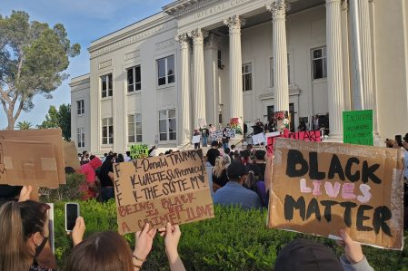 #BLM Peaceful Protest Takes Place at Courthouse