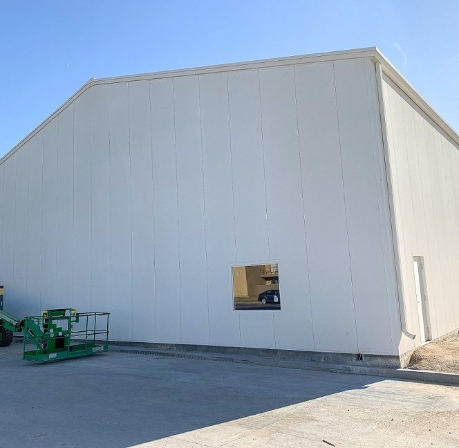 Trinity Baptist Constructs New Building; Not Quite Done