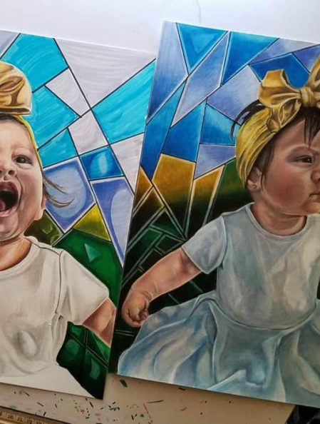 Young Holtville Family Paying it Forward with Art