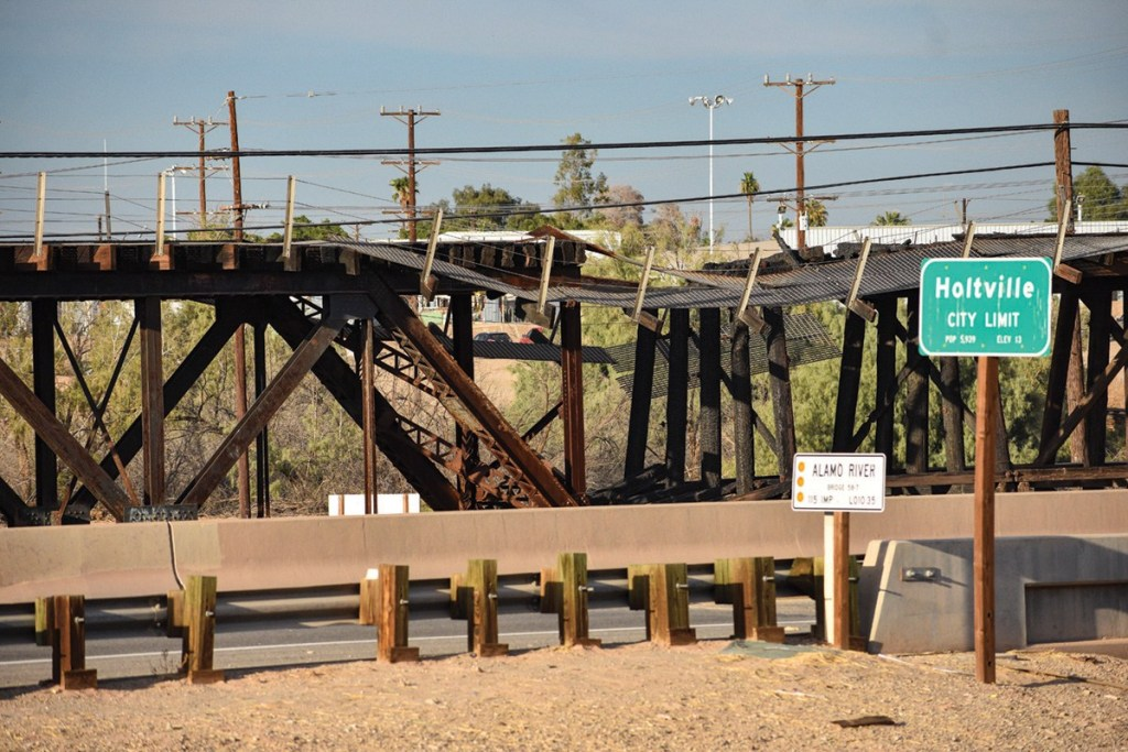 Alamo River Trestle Bridge Closer to Grant Funding
