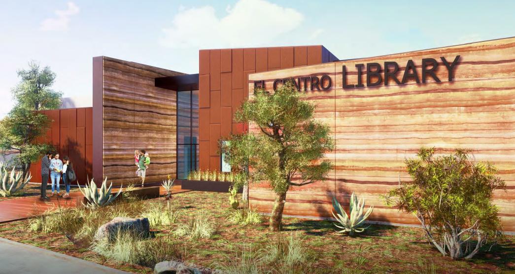 El Centro Library Building Inches Closer to Construction