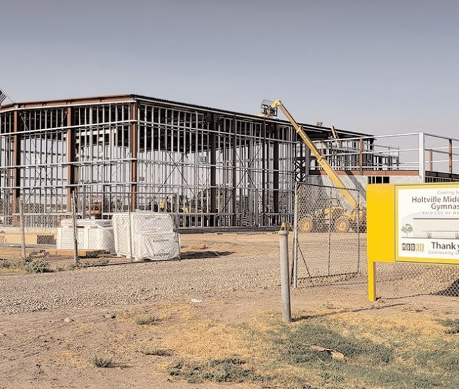 Measure G: Holtville Middle School Upgrades Underway