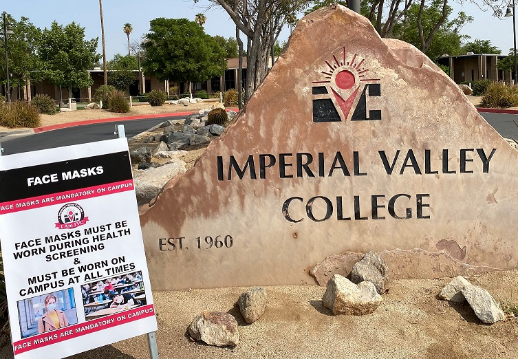 IVC Remains Online for Winter/Spring 2021