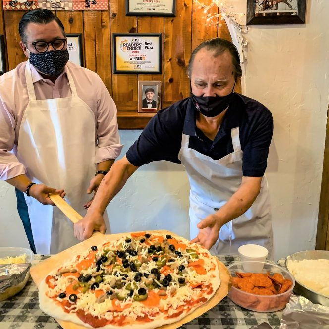 Georges pizza main image